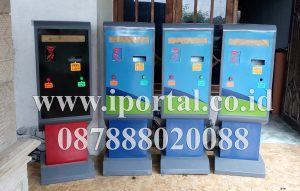 dispenser tiket parkir